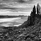 Old Man of Storr by Lesley Williamson
