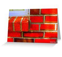 Bricks....  Really??? Greeting Card