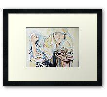 Mucha's Fate Framed Print