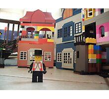 Mayor of Lego Town Photographic Print