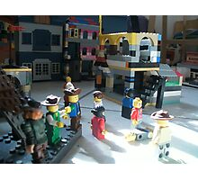 Lego Town Photographic Print