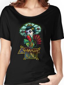 Shanghi Lil Women's Relaxed Fit T-Shirt
