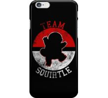 Pokeball Silhouette - Team Squirtle iPhone Case/Skin