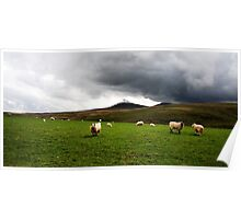 Storm clouds Looming Poster