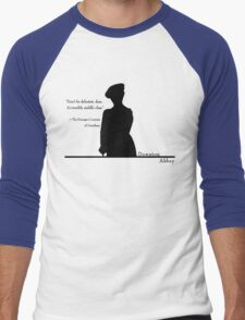 Don't Be Defeatist Men's Baseball ¾ T-Shirt