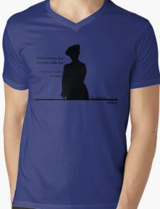 Don't Be Defeatist Mens V-Neck T-Shirt