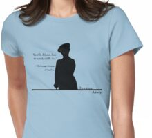 Don't Be Defeatist Womens Fitted T-Shirt