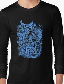 Old Friends (blue) Long Sleeve T-Shirt