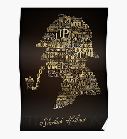 Sherlock Holmes The Canon Poster