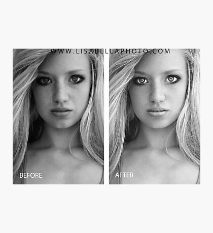 BEFORE/AFTER Photographic Print