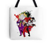 Yami Yugi andYugi as Joker and Harley Quinn  Tote Bag