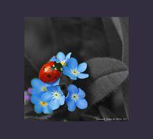 Ladybug and Violets Unisex T-Shirt