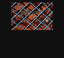 Vintage net background of rusty iron net Unisex T-Shirt
