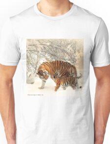 Siberian Tiger and Cub Unisex T-Shirt