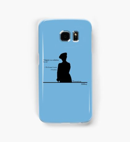 Vulgarity is no substitute for wit Samsung Galaxy Case/Skin