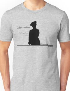 Vulgarity is no substitute for wit Unisex T-Shirt
