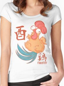The Year of the Rooster Women's Fitted Scoop T-Shirt
