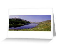 Llynnau Mymbyr Panorama Greeting Card