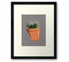 Breaking Bad - Lilly of the Valley Framed Print