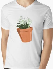 Breaking Bad - Lilly of the Valley Mens V-Neck T-Shirt