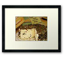 Cheese Please Framed Print