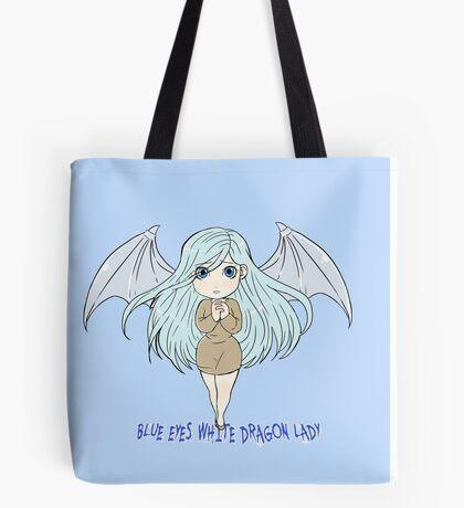 Yu-Gi-Oh! Kisara blue eyes white dragon lady Tote Bag