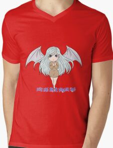 Yu-Gi-Oh! Kisara blue eyes white dragon lady Mens V-Neck T-Shirt