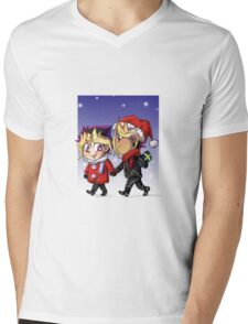 puzzleshipping Yu-Gi-Oh! Christmas Mens V-Neck T-Shirt