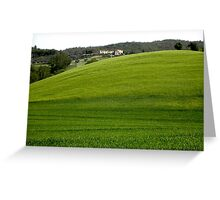 Umbrian Hillside Greeting Card