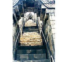 Borobudur - stairs to heaven Photographic Print