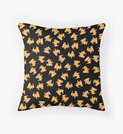 Dogs (Yellow Lab)! Throw Pillow