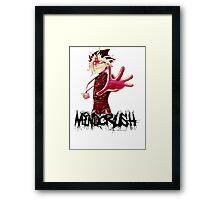 Yami Yugi Yu-Gi-OH! Mind Crush Framed Print