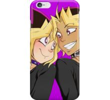 Atem-Yugi puzzleshipping Yu-Gi-Oh! iPhone Case/Skin