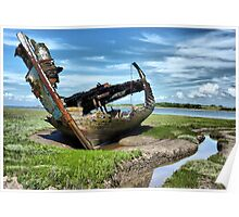 Wyre Estuary Wrecks .  Poster