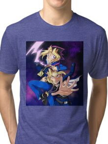 Yu-Gi-Oh! mind crush Tri-blend T-Shirt