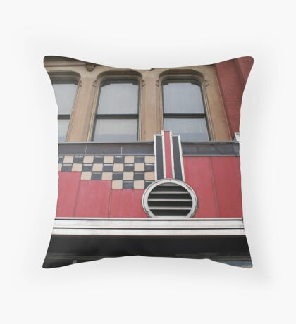 Theater Front Throw Pillow