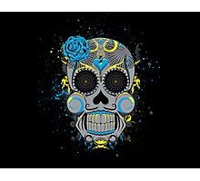 Diabolical Sugar Skull Photographic Print