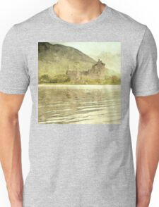 moody scottish castle Unisex T-Shirt
