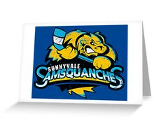 Sunnyvale Samsquanches Greeting Card
