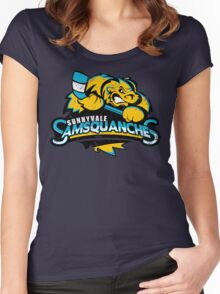 Sunnyvale Samsquanches Women's Fitted Scoop T-Shirt