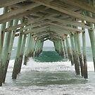 Emerald Isle Pier 2 by Jennifer Ingram