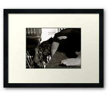 Drama at the Pont d'Arcole Framed Print