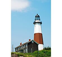 Montauk Point Lighthouse, Long Island, New York Photographic Print