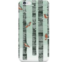 January Birds iPhone Case/Skin