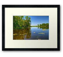 Horicon National Wildlife Refuge-2 Framed Print