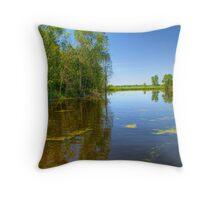 Horicon National Wildlife Refuge-2 Throw Pillow