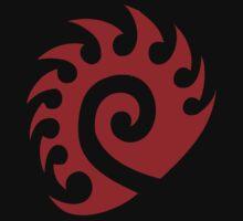 Red Zerg Insignia by Blazixe