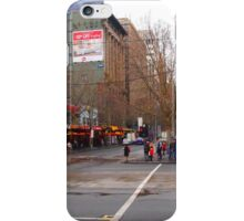 A rainy day in Melbourne VIC Australia  iPhone Case/Skin
