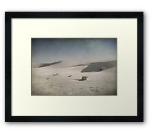 I Was Lost in the Desert Framed Print