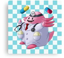 Dr. Chansey! Canvas Print